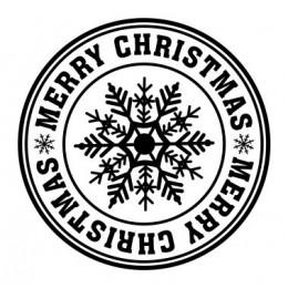 Stempel - Weihnachten 40mm Durchmesser
